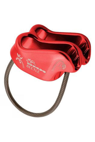DMM Beetle Belay Device Red