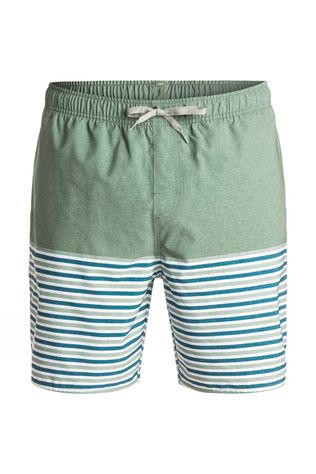 Quiksilver Mens Breezy Stripe Boardshorts Wreath