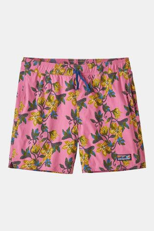Patagonia Mens Stretch Wavefarer Volley Shorts 16in Squash Blossom: Marble Pink