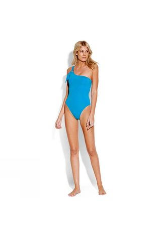 Womens Active Multi One Shoulder One Piece Swimsuit