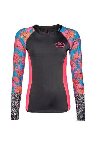 Protest Soekie Rashguard Long Sleeve True Black