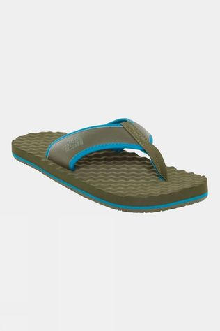 The North Face Mens Base Camp Flip Flop New Taupe Green/Crystal Teal