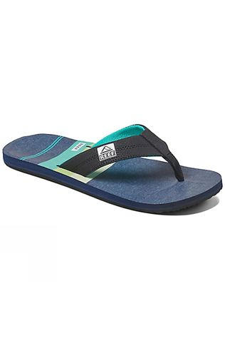 Reef Mens Reef HT Prints Sandal Aqua Green