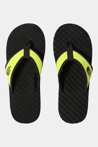 The North Face Mens Base Camp Flip Flop TNF Black/Sulphur Spring Green
