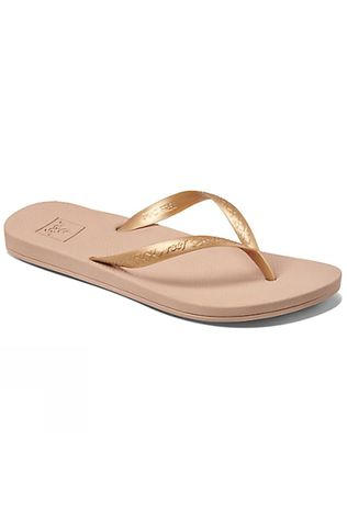 Reef Womens Escape Lux + Flip Flop Gold