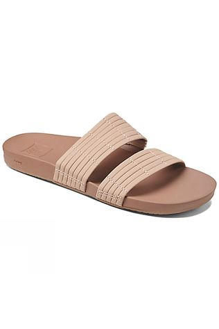 Reef Womens Cushion Bounce Slide Flip Flop Nude
