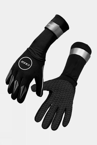 Zone3 Neoprene Swim Gloves Black/Silver