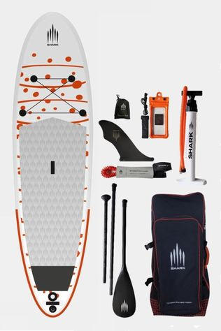 Shark 10'6 All Round iSUP Paddle Board Package White/Orange