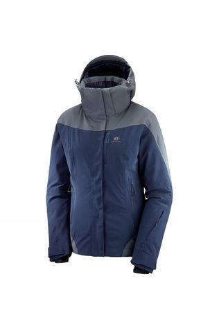 Salomon Womens Icerocket Jacket Night Sky/Ebony