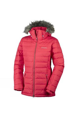 Columbia Women's Ponderay Jacket Red Camellia