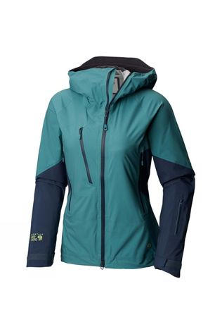 Mountain Hardwear Womens CloudSeeker Jacket Lakeshore Blue