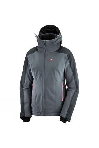 Salomon Womens Brilliant Jacket Ebony/Black