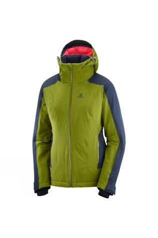Salomon Womens Brilliant Jacket Avocado/Night Sky
