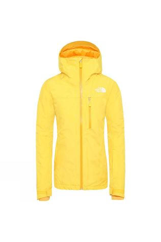 The North Face Womens Descendit Jacket Vibrant Yellow