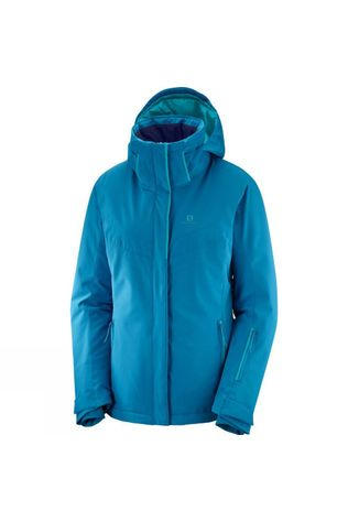 Salomon Womens Stormpunch Jacket Lyons Blue