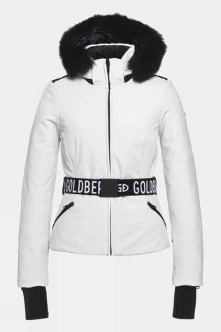Goldbergh Womens Hida Faux Fur Jacket White