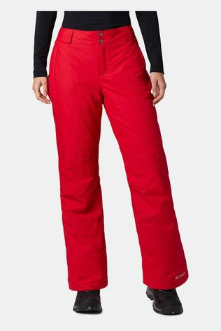 Columbia Womens Bugaboo Pants Red Lily
