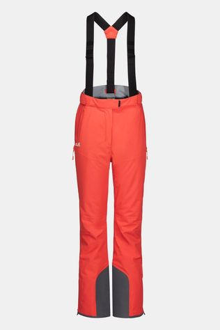 Jack Wolfskin Womens Big White Pants Orange Coral