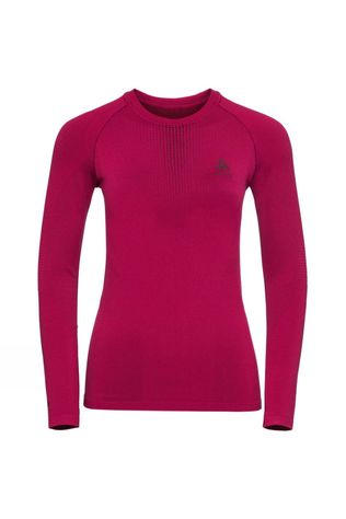 Odlo Womens Performance Warm LS Crew Cerise