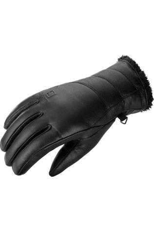 Salomon Womens Native Glove Black / Black Lining