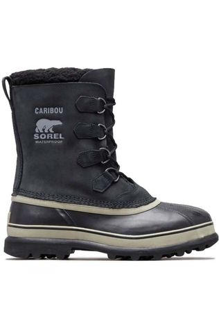 Sorel Mens Caribou Snow Boot  Black Tusk