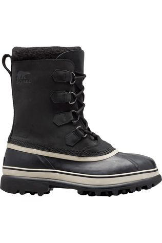 Sorel Mens Caribou Boot Black/Dark Stone
