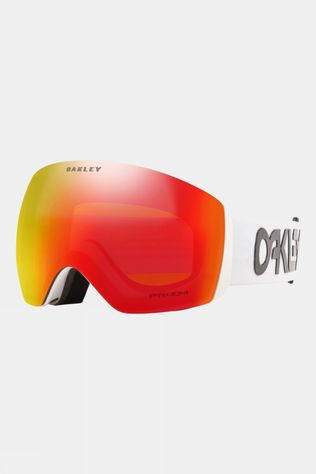 Oakley Mens Flight Deck Goggles Factory Pilot White / Prizm Snow Torch
