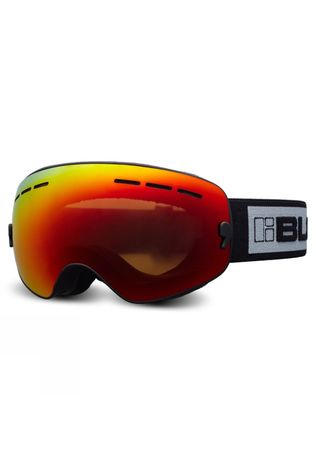Bloc Small Fit Moon Goggle Matt Black/Brown Red Mirror