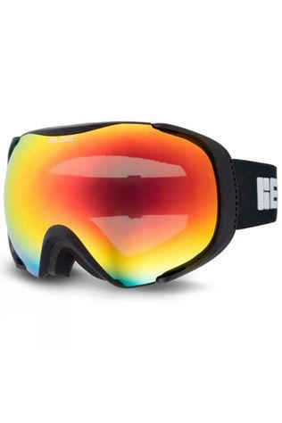 Bloc Mask MK4 Goggles Matt Black/Brown Revo Red Mirror