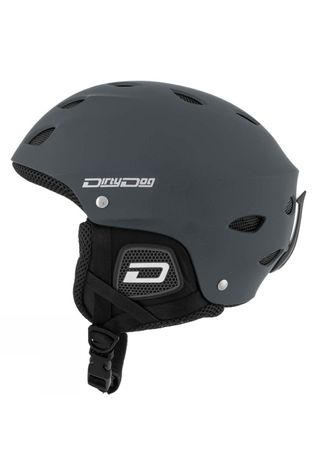 Dirty Dog Mens Orbit Helmet Matte Dark Grey