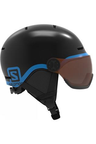 Salomon Kids Grom Visor Helmet Black