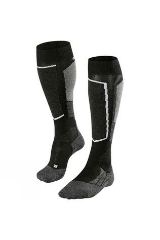 Falke Men's SK2 Cashmere Ski Sock Black