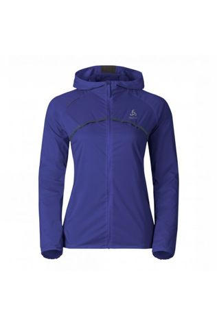 Odlo Womens Whirl Jacket Spectrum Blue