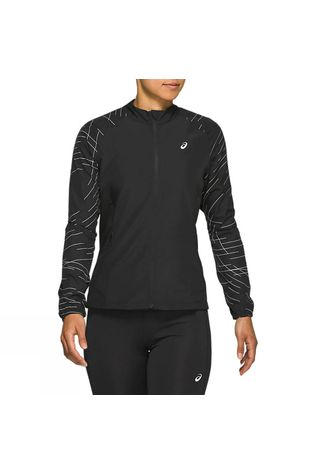 Asics Womens Night Track Jacket Black
