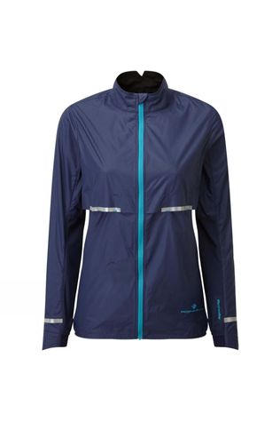 Ronhill Womens Tech Tornado Jacket Deep Navy/Spa Green