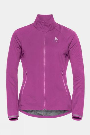 Odlo Womens Zeroweight Pro Warm Running Jacket Hyacinth Violet