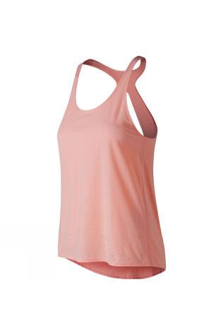 New Balance Womens Captivate Tank Himalyn Pink