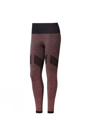 Adidas Womens Seamless Long Tights Black/Tactile Rose F17