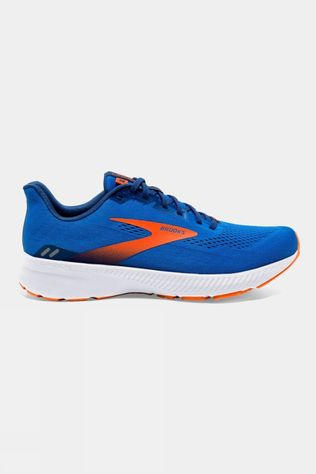 Brooks Mens Launch 8 Blue/Orange/White