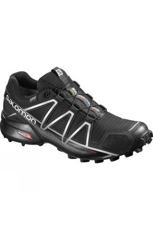 Salomon Mens Speedcross 4 GTX  Black/Black/Silver Metalic-X