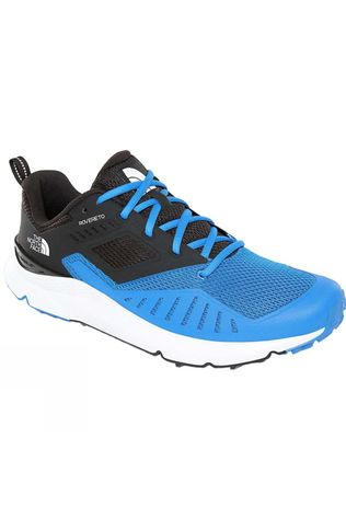 The North Face Mens Roverto Running Shoes Bomber Blue/TNF Black