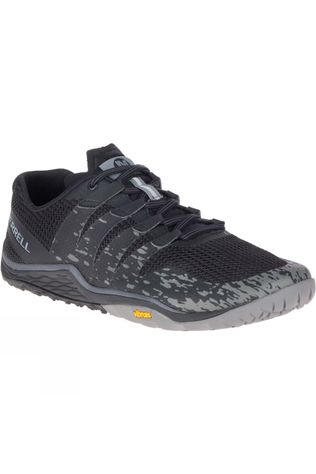 Merrell Mens Trail Glove 5 Shoe Black