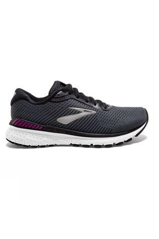 Brooks Women's Adrenaline GTS 20 Black/White/Hollyhock