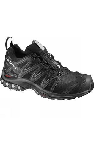 Salomon Womens XA Pro 3D GTX Shoe Black/Black/Mineral Grey