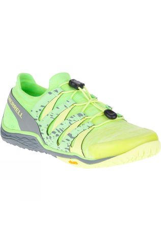Merrell Womens Trail Glove 5 3D Shoe Sunny Lime
