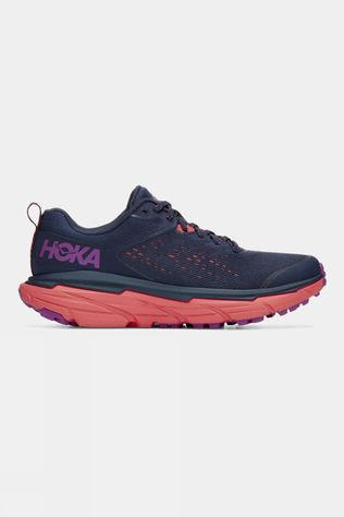 Hoka One One Womens Challenger ATR 6 BLACK IRIS / HOT CORAL