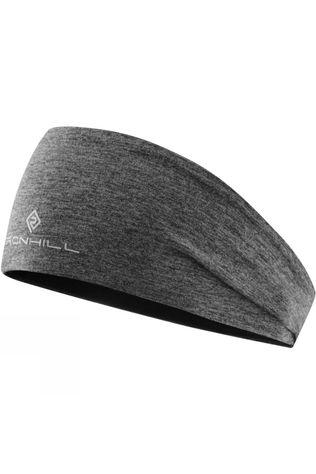 Ronhill Women's Reversible Contour Headband Grey Marl/Black