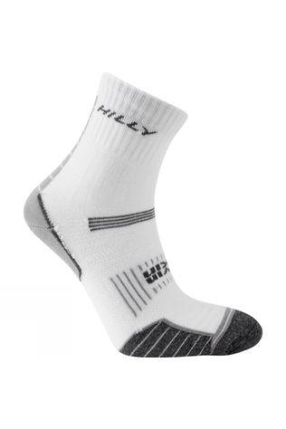 Hilly Twin Skin Anklet Sock White/Grey Marl