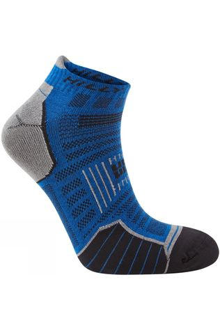 Hilly Twin Skin Socklet Azurite/Grey marl
