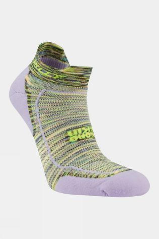 Hilly Womens Lite Cushion Socklet Lilac/Fluo Yellow